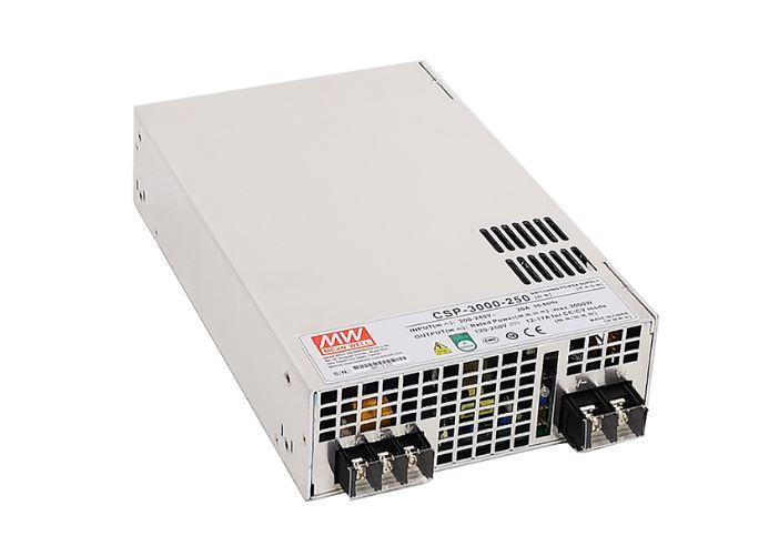 CSP-3000 strømforsyning fra MEAN WELL. Forhandler er Power Technic. Ring 70 208 210