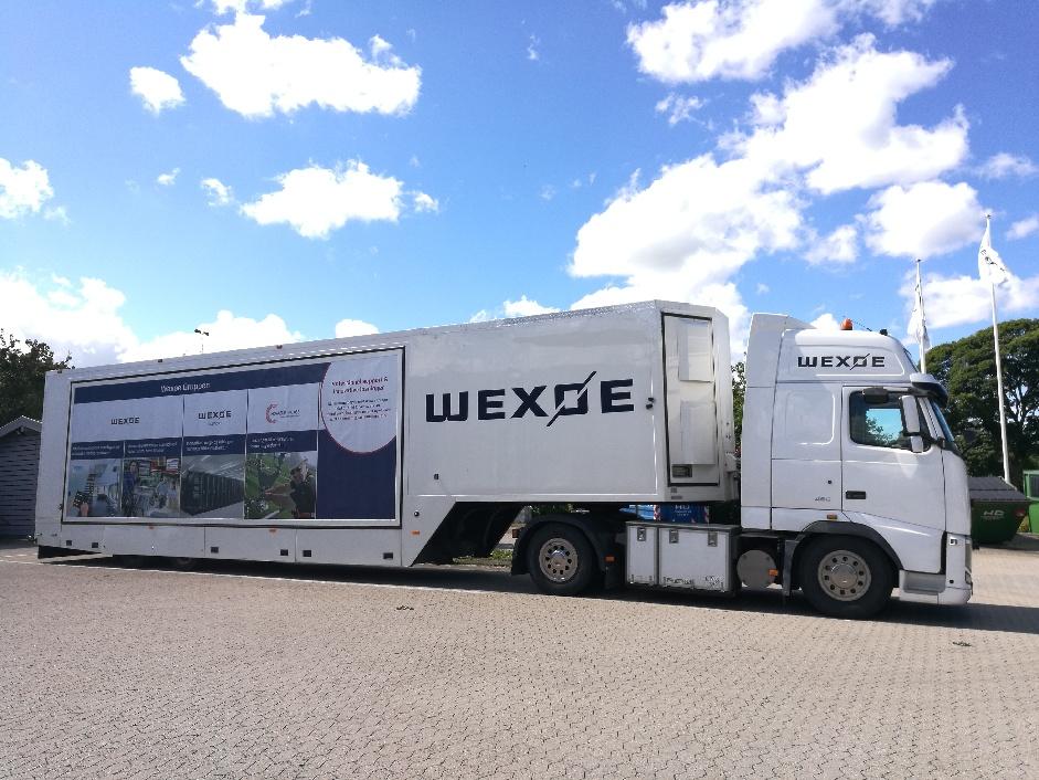 Wexøes udstillingsbus