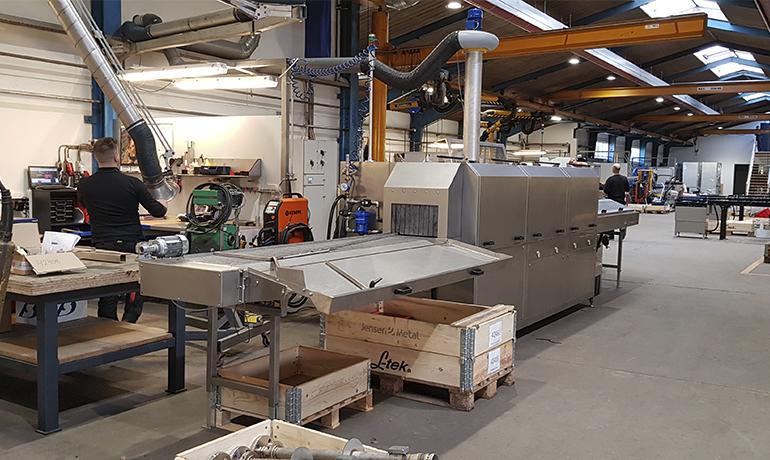 PLC-styret BMS hos KSN Industri