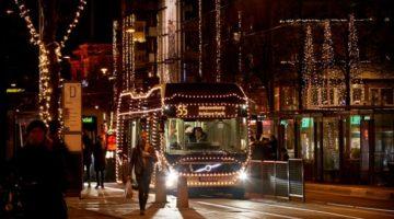 Svensk julelys-bus måtte trække stikket