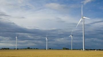 Stærk slutspurt for landvindmøller